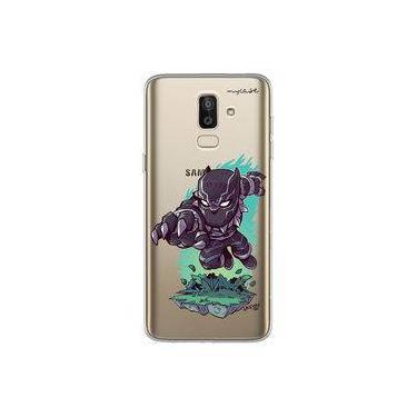 Capa para Galaxy J8 - Os Vingadores | Pantera Negra