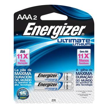 Pilha Energizer Ultimate Lithium aaa Energizer