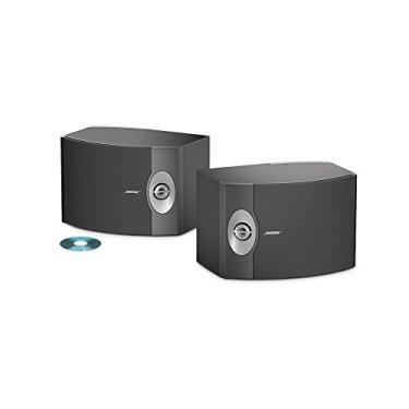 Bose Caixa Bookshelf 301v Black (par)