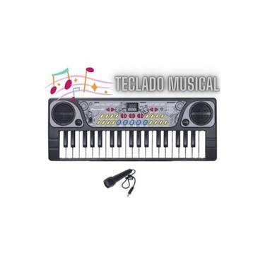 Imagem de Teclado Musical Infantil Criança Brinquedo Instrumento Piano
