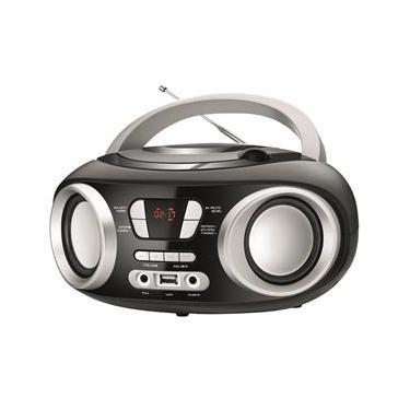 Rádio Portátil Mondial Boom Box NBX-13 Entrada USB Auxiliar Rádio FM – 6W