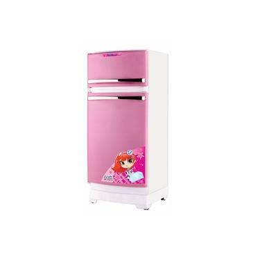 Imagem de Geladeira Branca e Rosa Mágica Para Cozinha Infantil Magic Toys 8051P