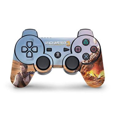Skin Adesivo para PS3 Controle - Uncharted 3