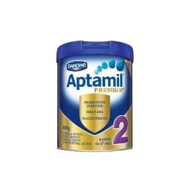 Leite Em Pó Aptamil Premium 2 Lata 800G (6-10 Meses)