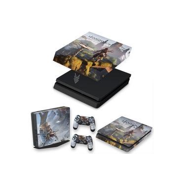 Capa Anti Poeira e Skin para PS4 Slim - Horizon Zero Dawn