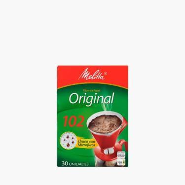 Kit Com 10 Filtros De Papel Melitta 102