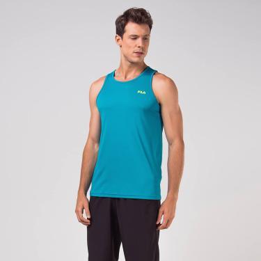 Regata Fila Basic Sports Azul e Verde - EG