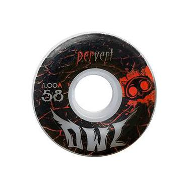 Roda para Skate Pervert 58mm Owl Sports - Branco