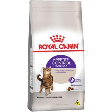 Ração Royal Canin Feline Health Nutrition Sterilised Appetite Control para Gatos Adultos Castrados - 1,5 Kg