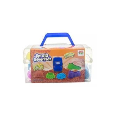 Imagem de Areia Divertida Maleta Com Acessórios Sortidos DMT5545 - Dm Toys