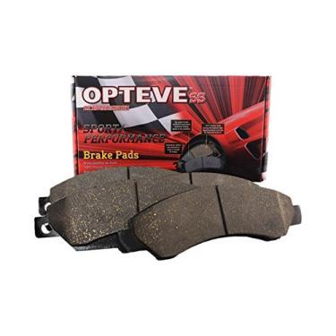 Pastilhas de freio de cerâmica CDX1288 da Optive Brakes