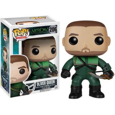 Imagem de Funko POP TV: Arrow - Oliver Queen 'o Arqueiro Verde' Figura de Ação