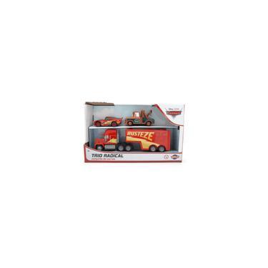Imagem de Carrinho Disney Carros - 3 Kit Caminhao - Mack Mcqueen e Mate Roda Livre - Toyng toyng
