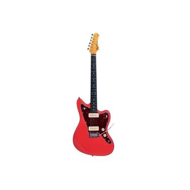 Imagem de Guitarra Tagima Woodstock TW 61 FR Fiesta Red Jazzmaster