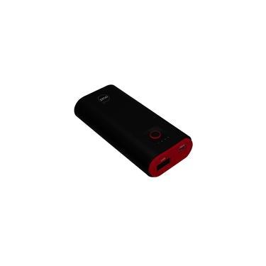 Carregador Portatil Dazz Power Bank Pop 5000Mah 1USB+1Micro USB Preto e Vemelho 6014534