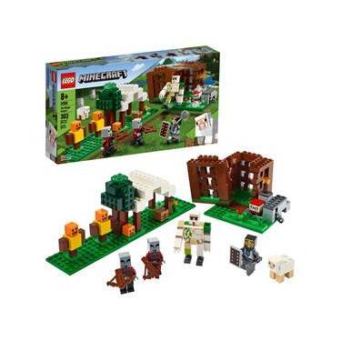 LEGO Minecraft - The Pillager Outpos 21159 - 303 Peças