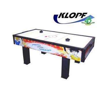 Mesa de Aero Hockey Klopf Animado com 2 Discos e 2 Rebatedores