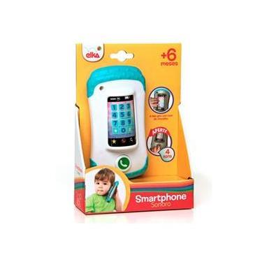 Smartphone Celular Sonoro de Vinil - Elka 967