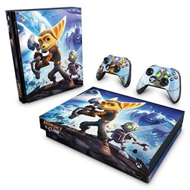 Skin Adesivo para Xbox One X - Ratchet And Clank