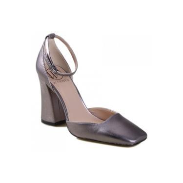 Sapato Werner Napa Metalizado 110009