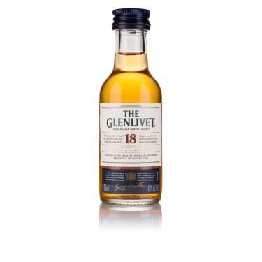 The Glenlivet Whisky Single Malt 18 Anos Escocês 50ml