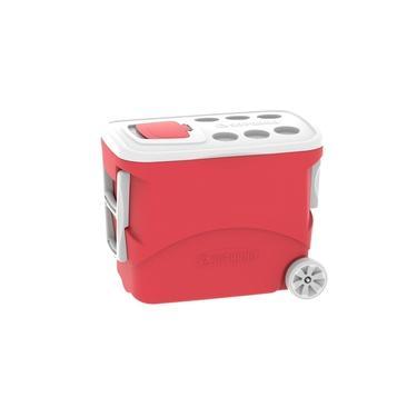 Imagem de Caixa Térmica Cooler Tropical 50 Litros com Rodas Bebidas e Alimentos - Soprano