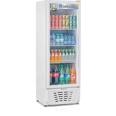 Expositor de Bebidas Vertical Gelopar 414 Litros Frost Free Branco - GPTU40