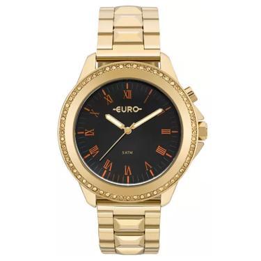 eaaaf6b433f Relógio Feminino Euro Analógico EU2036YMF 4P - Dourado