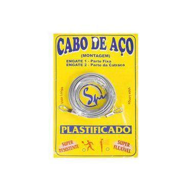 Cabo De Aço Spin Galvanizado E Plastificado - Para Rede De Tênis