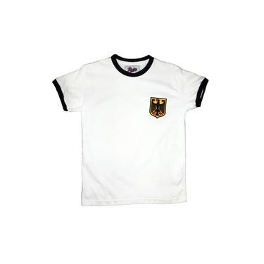 Camisa Liga Retrô Alemanha 1974 Infantil