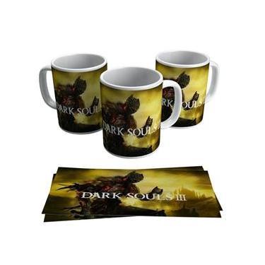 Caneca Jogo Dark Souls 3 Game Geek Gamer Ps4