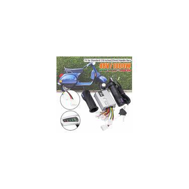 Imagem de 48 V 1000 W Bicicleta Elétrica Scooter Motor Escovado Controlador de Velocidade Com Apertos de Torção Do Acelerador Bicicleta Elétrica E-bike acessório
