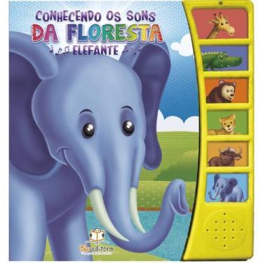 Imagem de Conhecendo Os Sons Da Floresta - Elefante - Blu Editora - Dwinguler
