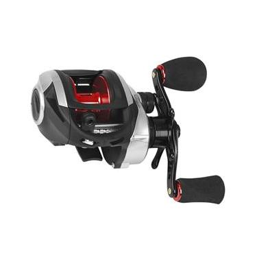 Carretilha de Pesca Accept Red Saint Plus 7.0:1 Drag 5Kg - Esquerda Lh