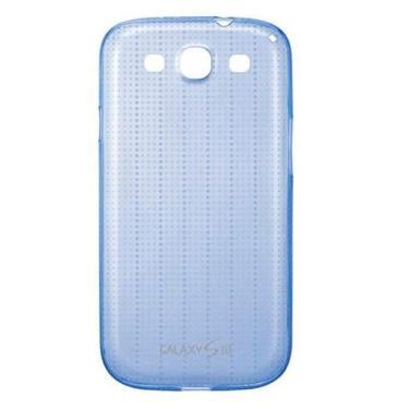Capa p/ Samsung Galaxy S3 Samsung Premium Azul EFC-1G6SBECSTD