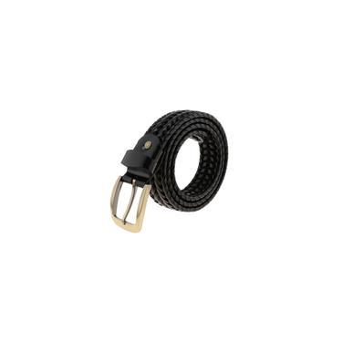Retro Masculino Tecido Oco-para Fora Cinto Ajustável Cintura Cintura