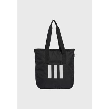 Bolsa adidas Performance Tote 3-Stripes Preto ADIDAS Performance GE1232 feminino