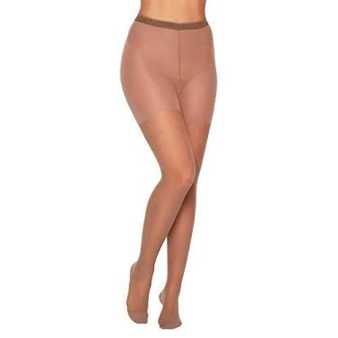Meia Calça Kendall Suave Compressão com Ponteira (13-17 mmhg) 2651 22-Mel M