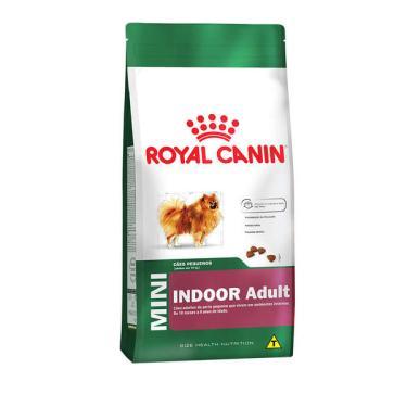 Ração Royal Canin Mini Indoor para Cães Adultos de Raças Pequenas com 10 Meses ou mais - 7,5 Kg
