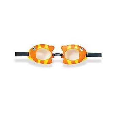 Óculos Para Natação Play Bichinhos Animados Peixinho - Intex