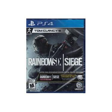 Rainbow Six Siege Deluxe Edition - Jogo PS4 (Dublado em Português)