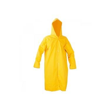 Capa para chuva de PVC com forro 135 m amarela GG Vonder Amarelo