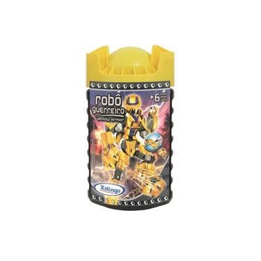 Imagem de Blocos de Montar Robô Guerreiro Yellow Armour 699.8 Xalingo