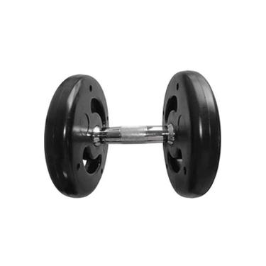 Dumbbell Injetado Com Pegada Cromada Academia Fitness 8kg