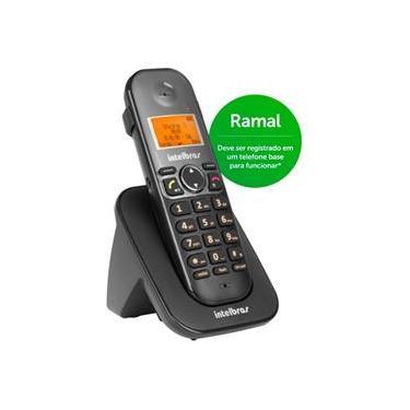 Ramal Telefone S/ Fio Ts 5121 Preto 4125121