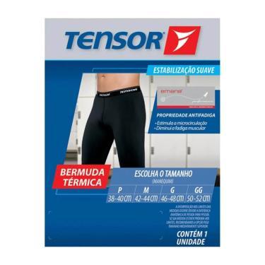 Tensor 6561 Bermuda Térmica Preta P
