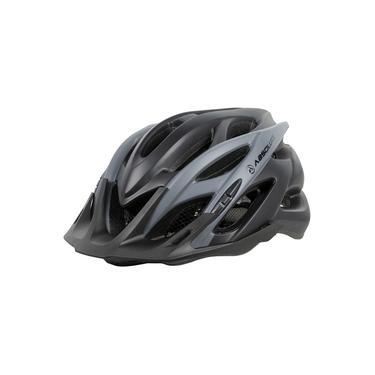 Imagem de Capacete Ciclismo Wild Com Led In-mold Tamanho Grande 58/61 cm Preto e Cinza Absolute