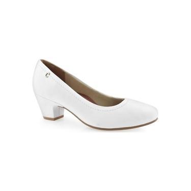 Sapato Feminino Campesí Atlantic Branco L6132