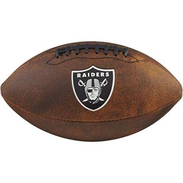 Bola Futebol Americano Nfl Jr Throwback Team Logo Oakland Raiders, Wilson