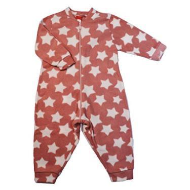 Pijama Infantil Macacão Em Soft, Estrelas - Gueda